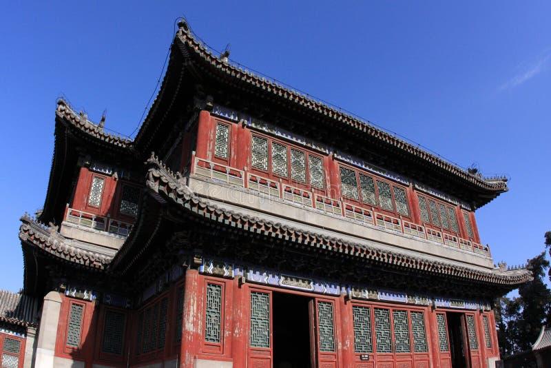 Pekin lato pałac teatr fotografia stock