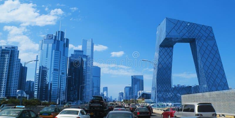 Pekin linia horyzontu zdjęcie stock