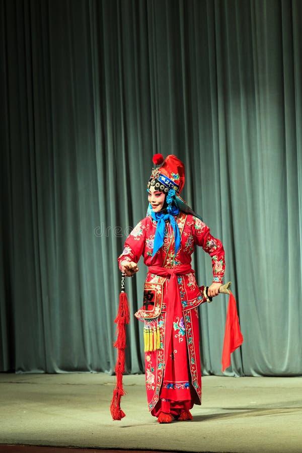 Pekin opery występ obrazy royalty free