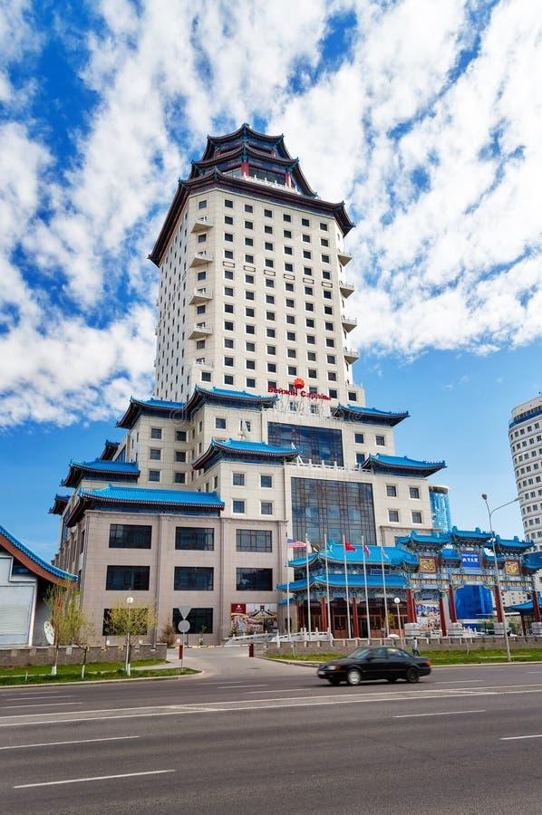 Pekin pałac Soluxe hotel Astana obraz royalty free
