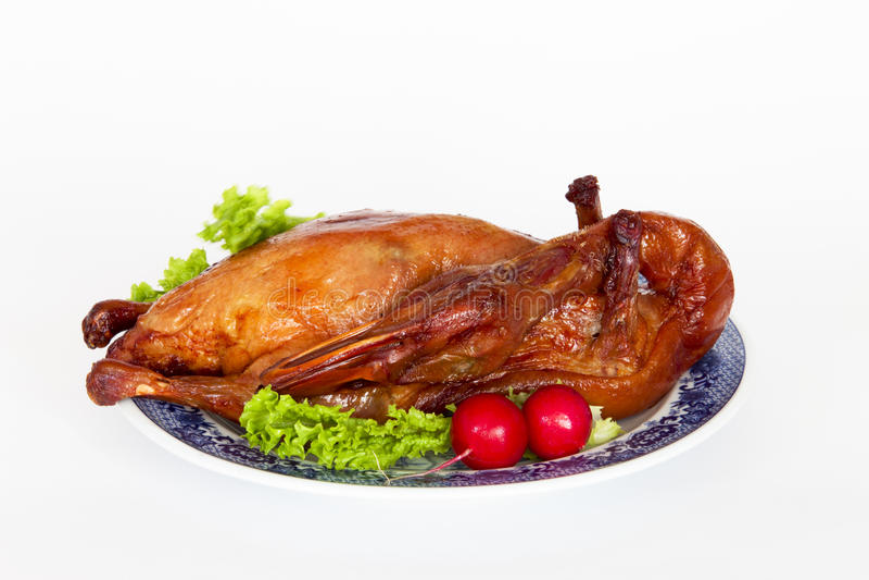 Pekin a rôti le canard image stock