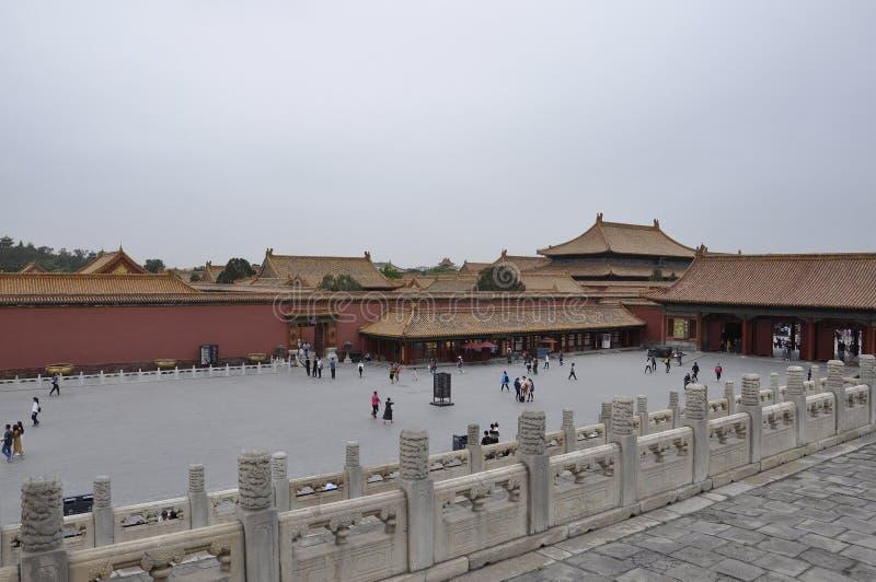 Pekin, 5th może: Brama Nadziemska czystość w Niedozwolonym mieście od Pekin obrazy stock