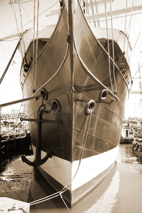 Peking, a 1932 Merchant vessel. New York City royalty free stock photo