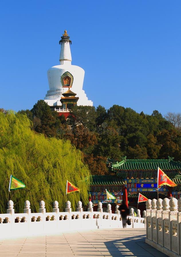 Peking beihai Park des Porzellans lizenzfreie stockfotografie