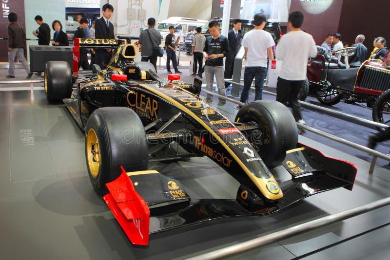 Peking China 27. April, Formel 1 im Selbsterscheinen lizenzfreies stockfoto