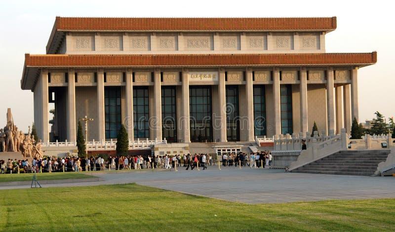 Peking, China: Grote Zaal van de Mensen royalty-vrije stock foto