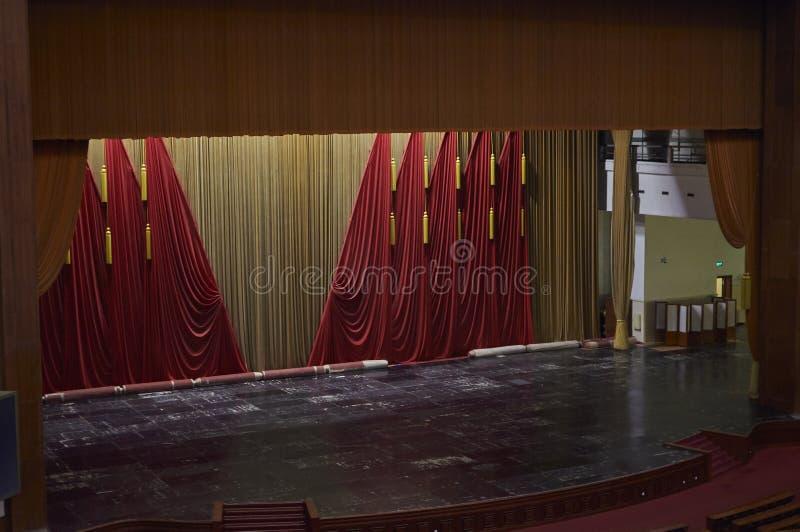 Peking, China - Juni 2019: Das Auditorium von Zehntausend-Leuten, Große Halle des Volkes lizenzfreies stockbild