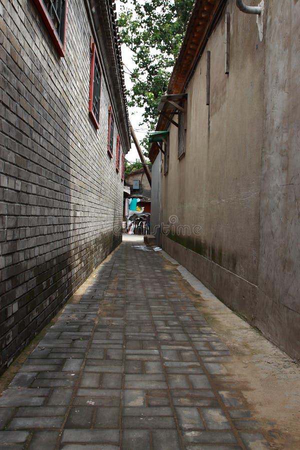 Peking-Gasse lizenzfreie stockbilder