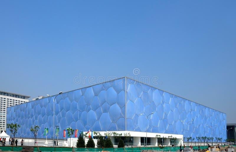 Peking-olympisches Stadion stockfotos