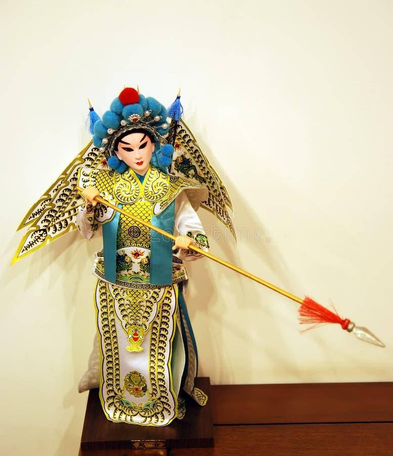 Peking Opera doll stock photo