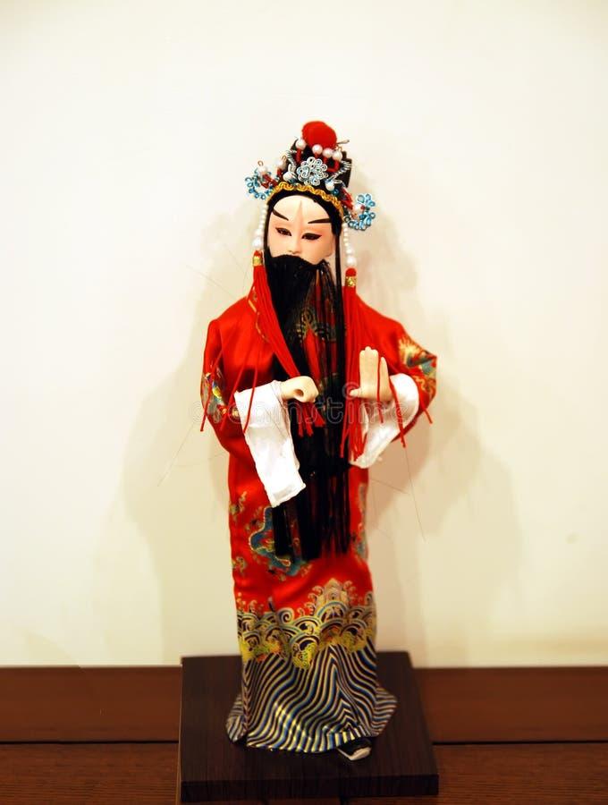 Download Peking Opera doll stock photo. Image of isolated, make - 12729358
