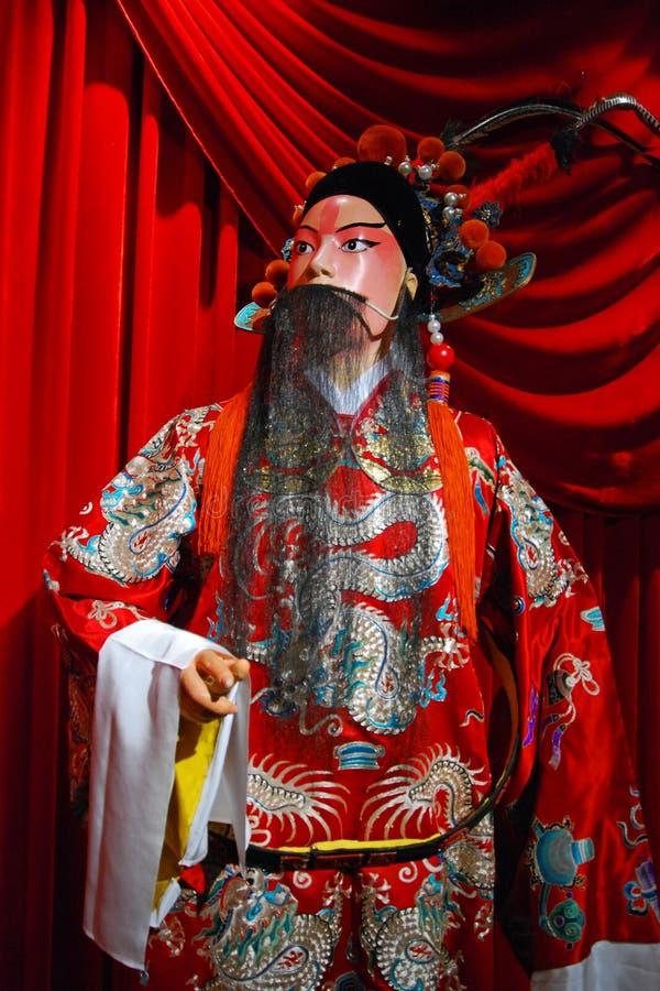 Peking opera puppet royalty free stock photos