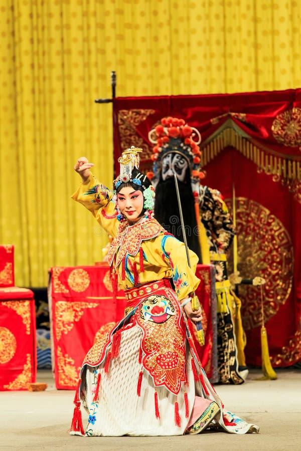 Peking-Opernleistung lizenzfreie stockfotos