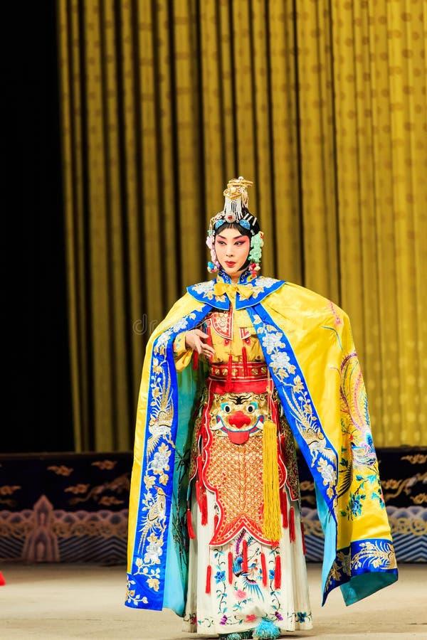 Peking-Opernleistung stockfotos