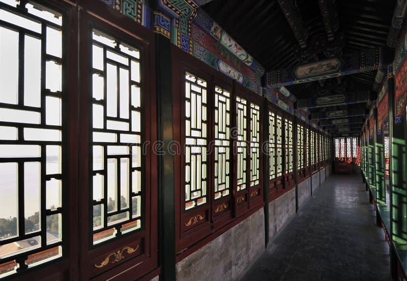 Peking-Sommer-Palast, China lizenzfreies stockbild