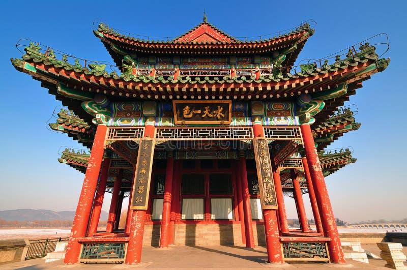 Peking-Sommerpalast stockbilder