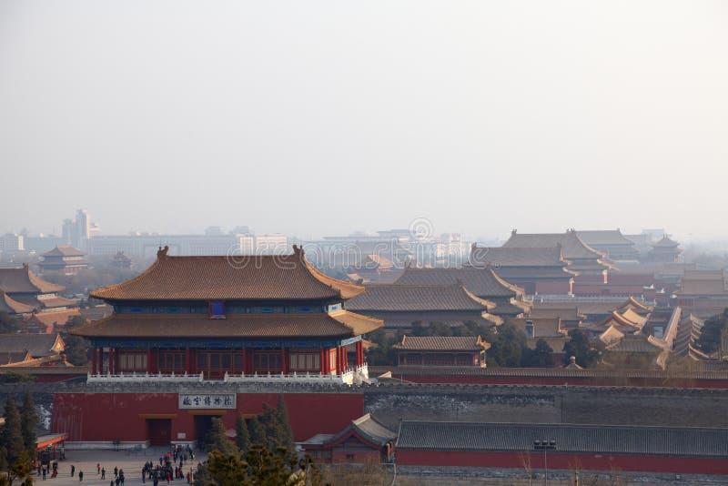 Peking verbotene Stadt lizenzfreies stockbild
