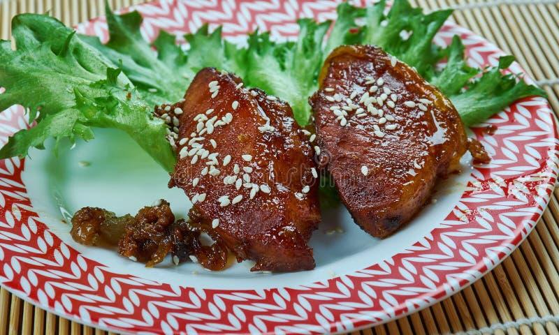 Peking wieprzowiny kotleciki zdjęcie royalty free