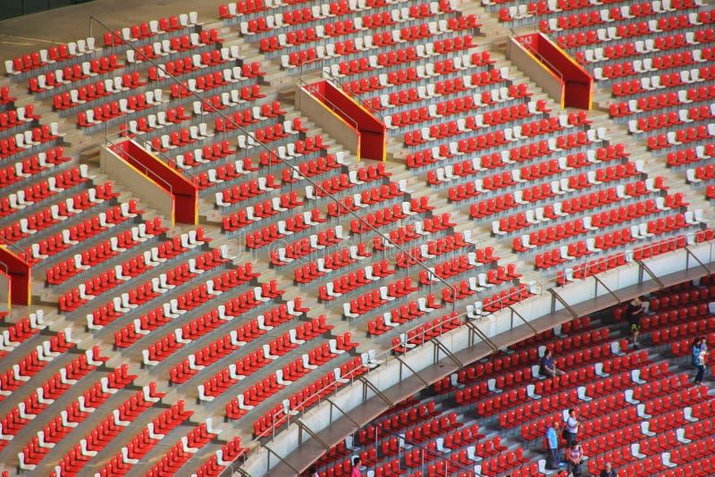 Pekingmedborgare Olympic Stadium/rede för fågel s royaltyfria bilder
