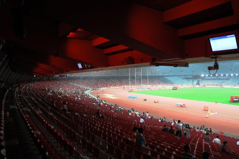 Pekingolympics statium lizenzfreie stockfotos