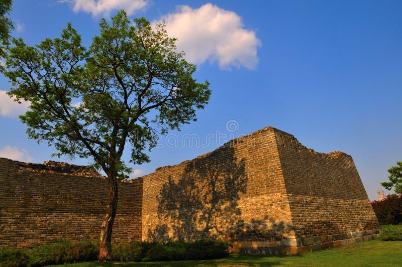 Pekings alte Stadtwände lizenzfreies stockfoto
