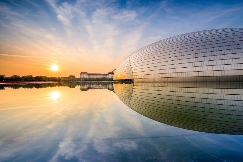 Pekingteater royaltyfria bilder