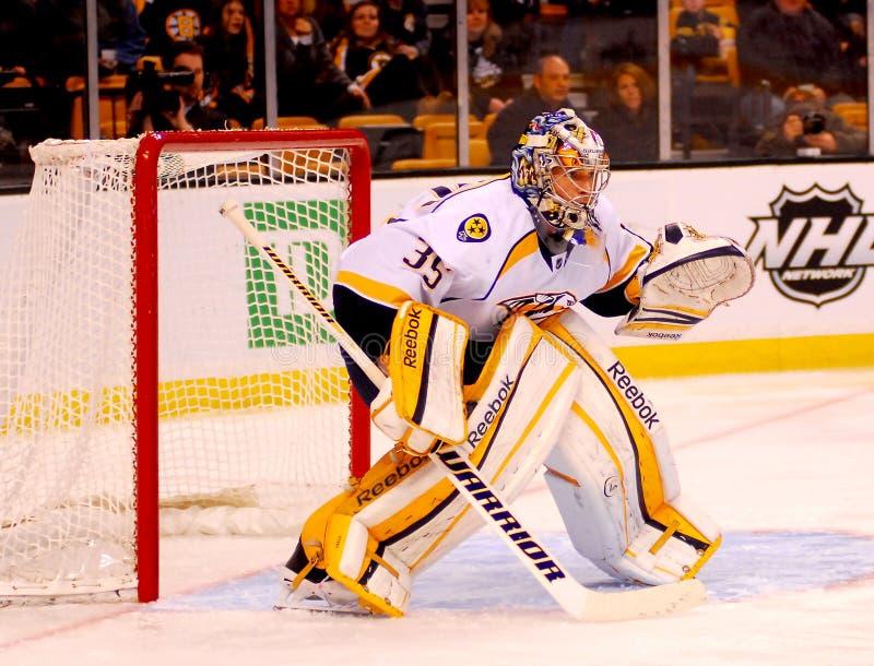 Pekka Rinne Nashville Predators. Nashville Predators goalie Pekka Rinne #35 stock images