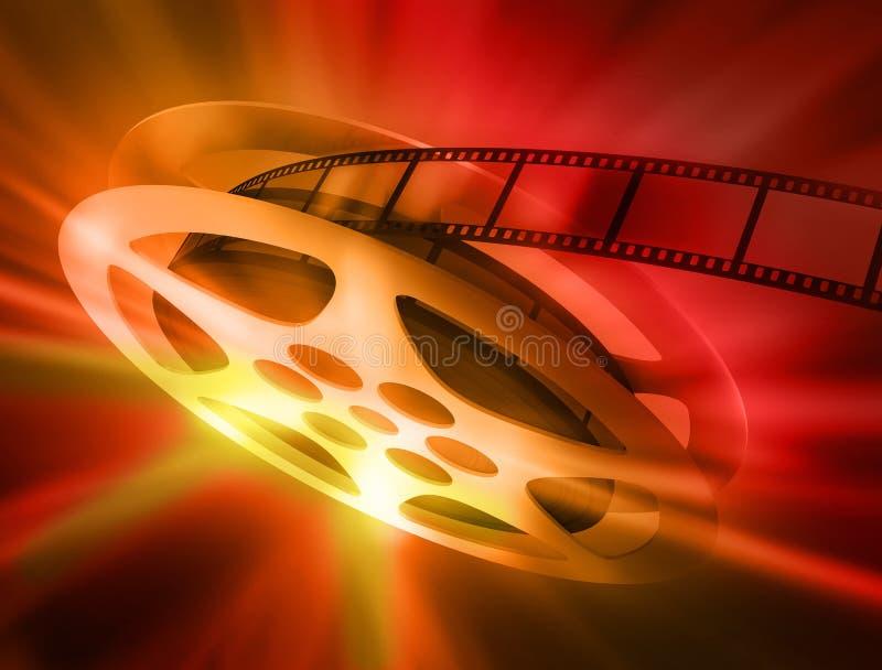A película. ilustração stock