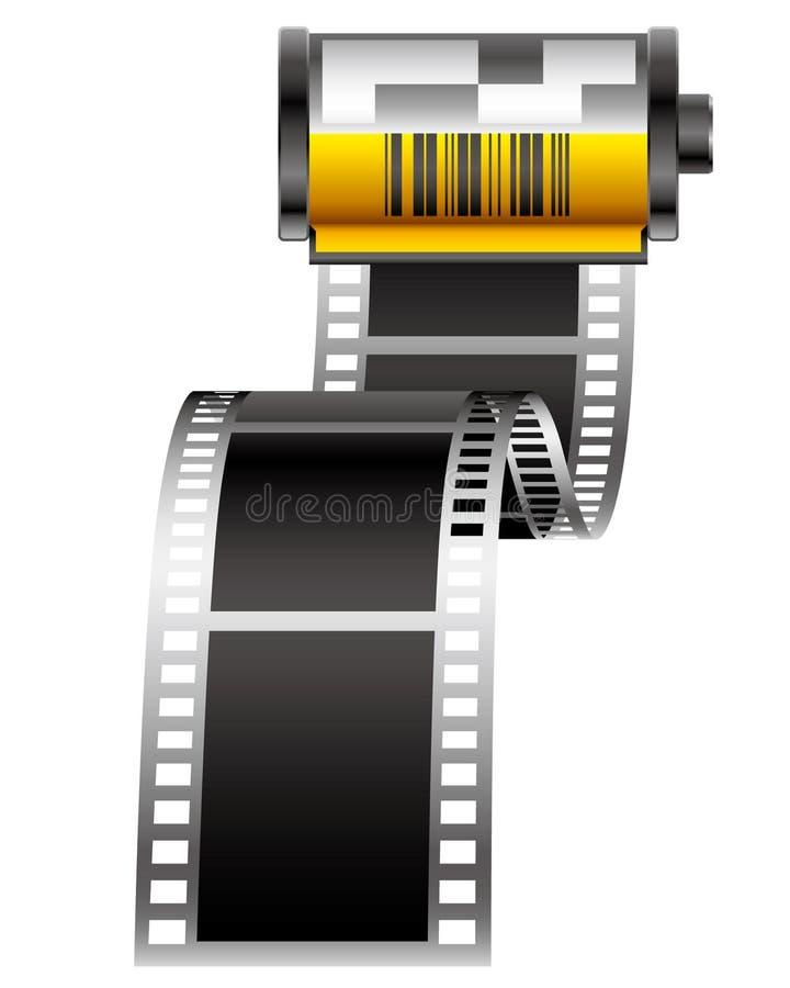 Película ilustração do vetor