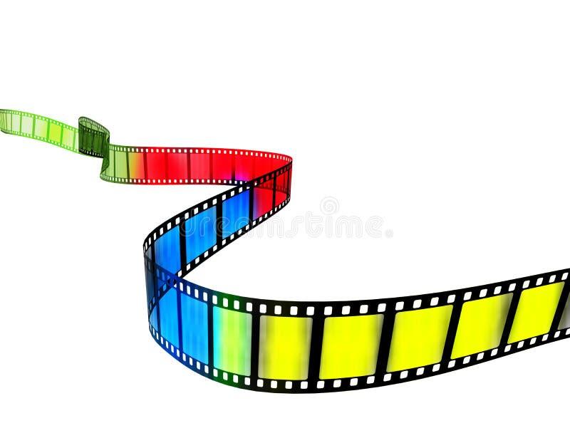 Película ilustración del vector