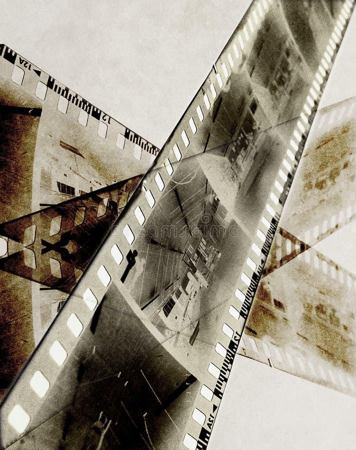 Película abstracta stock de ilustración