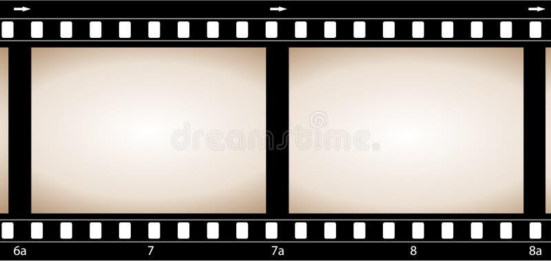 Película da câmera ilustração royalty free
