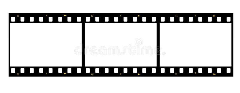 Película da foto ilustração do vetor