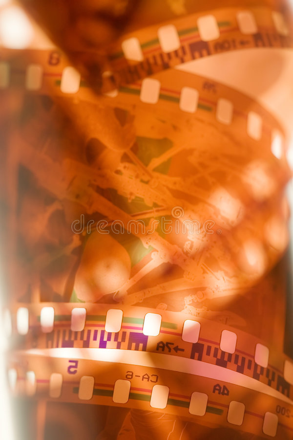 película de 35 milímetros fotos de archivo