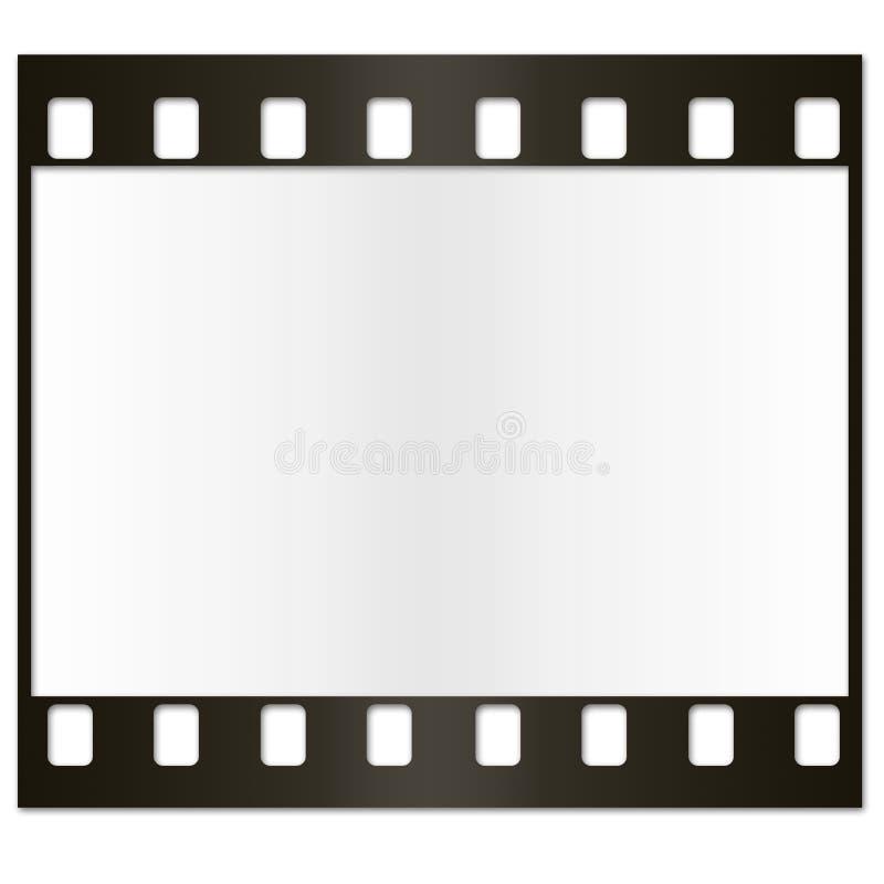 película de 35 milímetros ilustración del vector