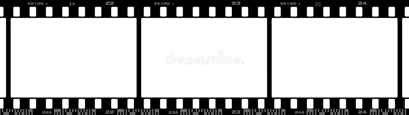 película de 35 milímetros ilustração do vetor