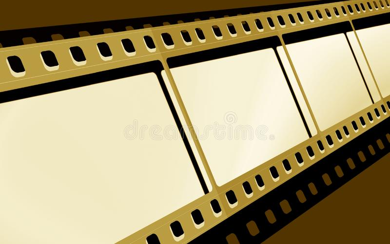 película de 35m m imagen de archivo libre de regalías