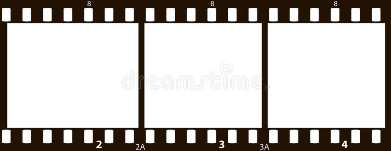película de 35mm ilustração stock