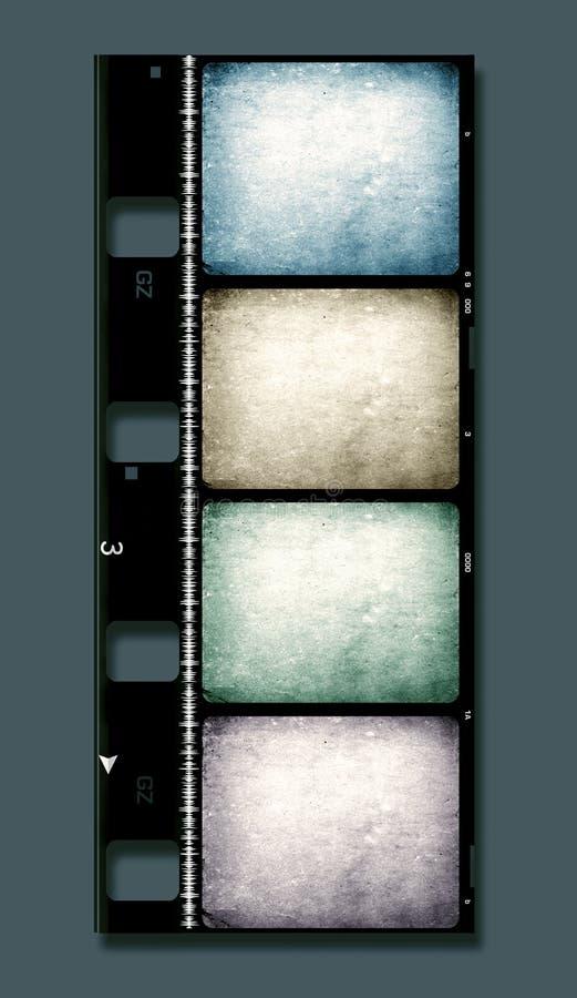 película de 8mm ilustração stock