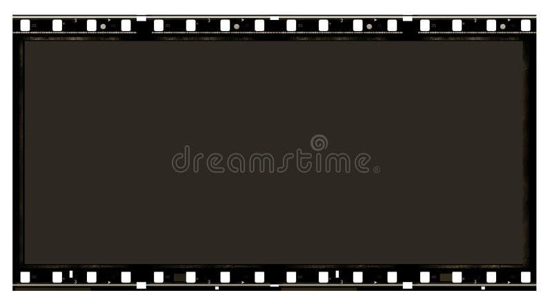 película de filme de 70 milímetros ilustração do vetor