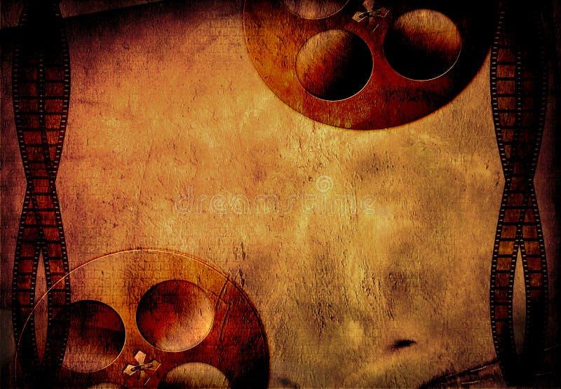 Película de Grunge ilustração do vetor