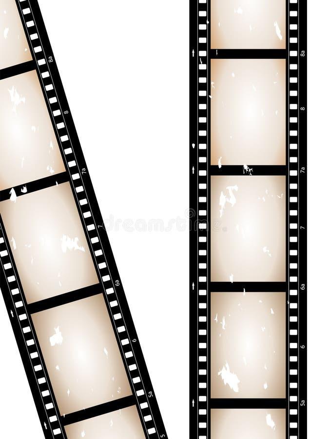 Película de la cámara ilustración del vector