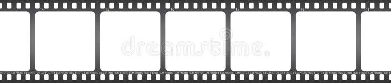 Película de la foto ilustración del vector