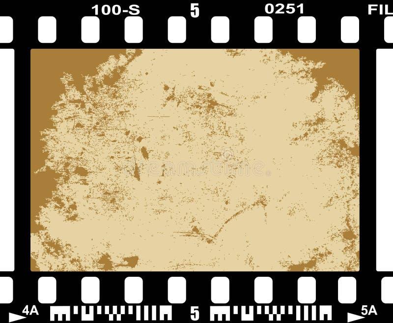 Película de la foto stock de ilustración