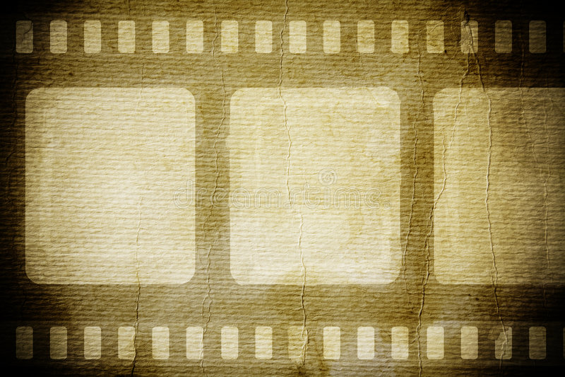 Película de la vendimia imágenes de archivo libres de regalías
