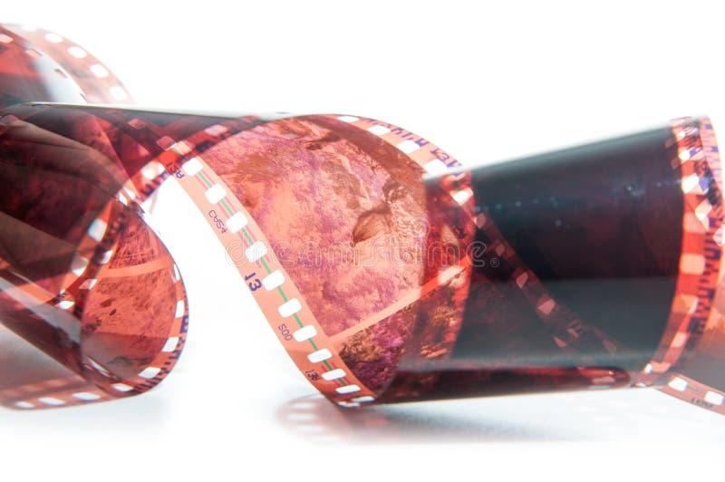 película de 35 milímetros imagem de stock