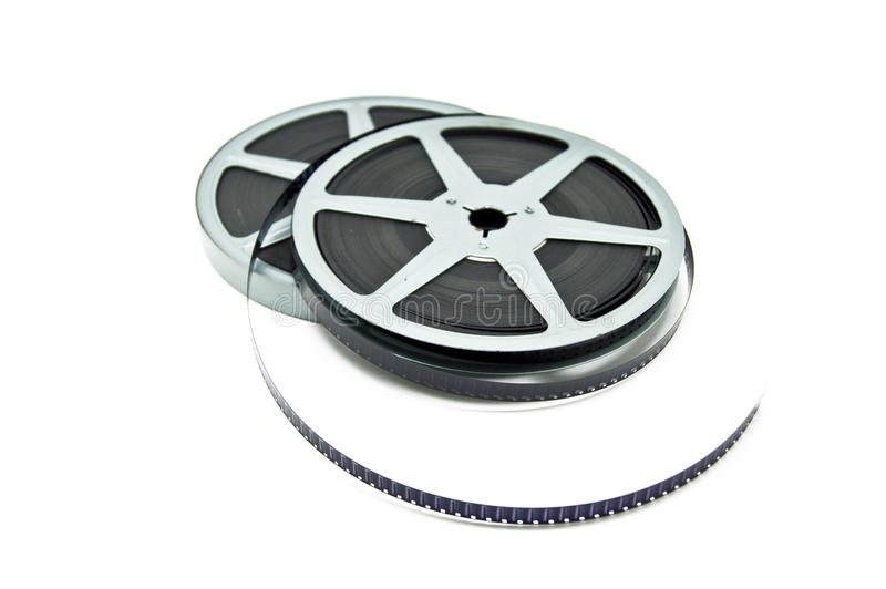 Película de película foto de archivo