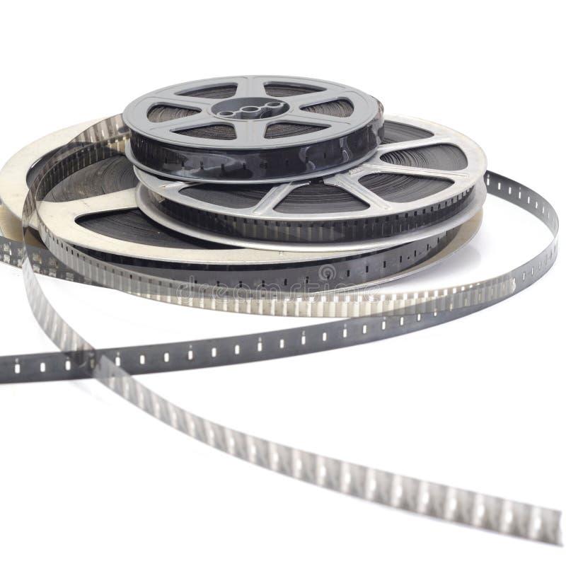 Película de rodillo del cine fotos de archivo