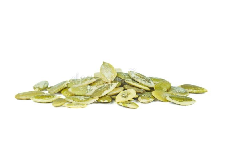 Película de sementes frescas de abóbora fotos de stock
