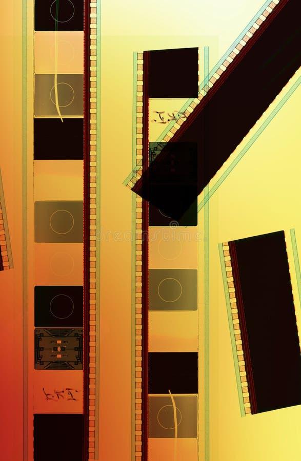 película de um movimento de 35 milímetros imagem de stock
